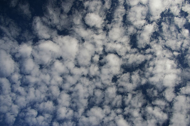 Gambar Awan Altokumulus, Foto Awan Altokumulus