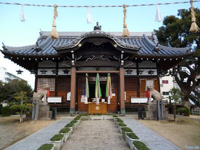 蒲田神社拝殿