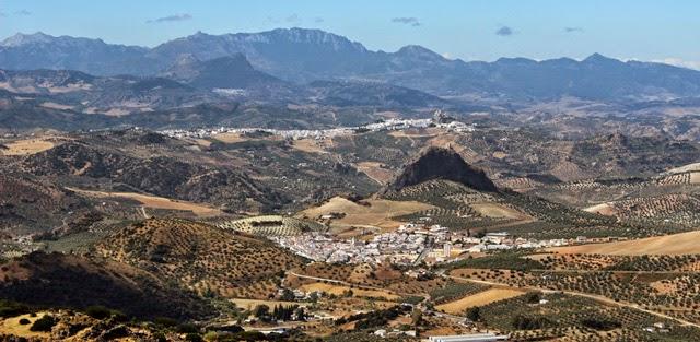 Olvera, vista desde El Terril