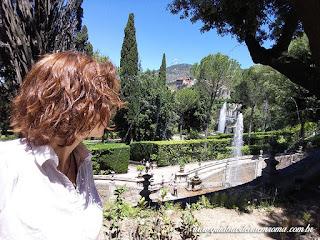 villa deste guia roma portugues cascatas - Villa D'Este em Tivoli com guia em português