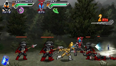 PPSSPP, Game, Android, All Kamen Rider: Rider Generation 2, Action Game