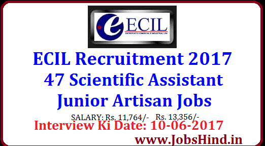 ECIL Recruitment 2017