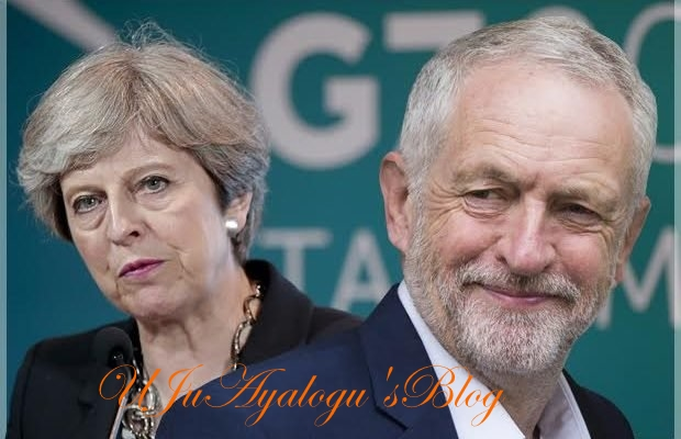 UK election: Theresa May loses more seats, Labour plots minority government (full list)