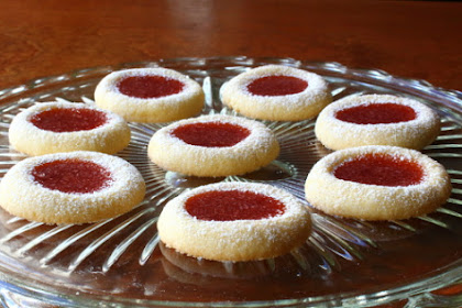 Thumbprint Cookies – Great Grandma Mitzi to the Rescue!