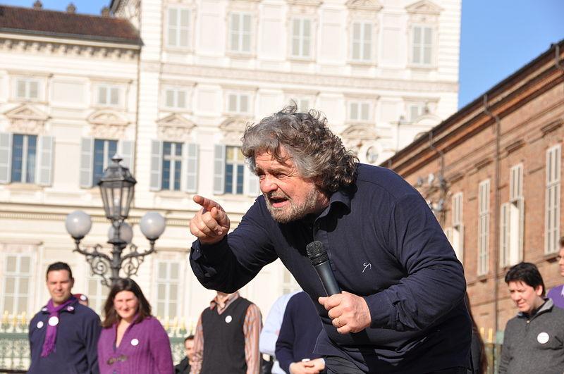 Italie: Beppe Grillo ?
