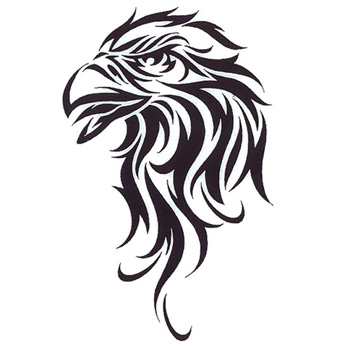 tribal tattoo eagle design1