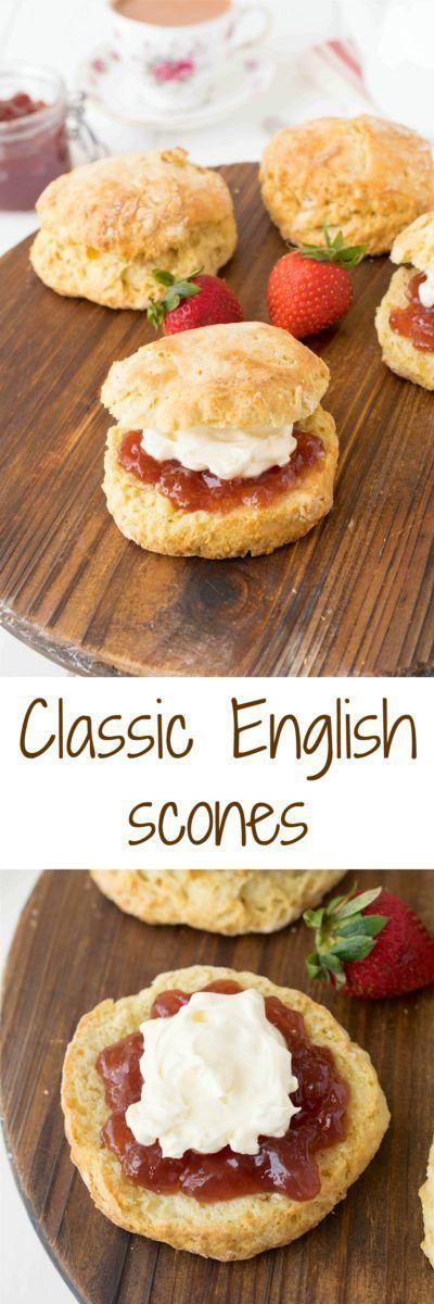 Classic English Scones