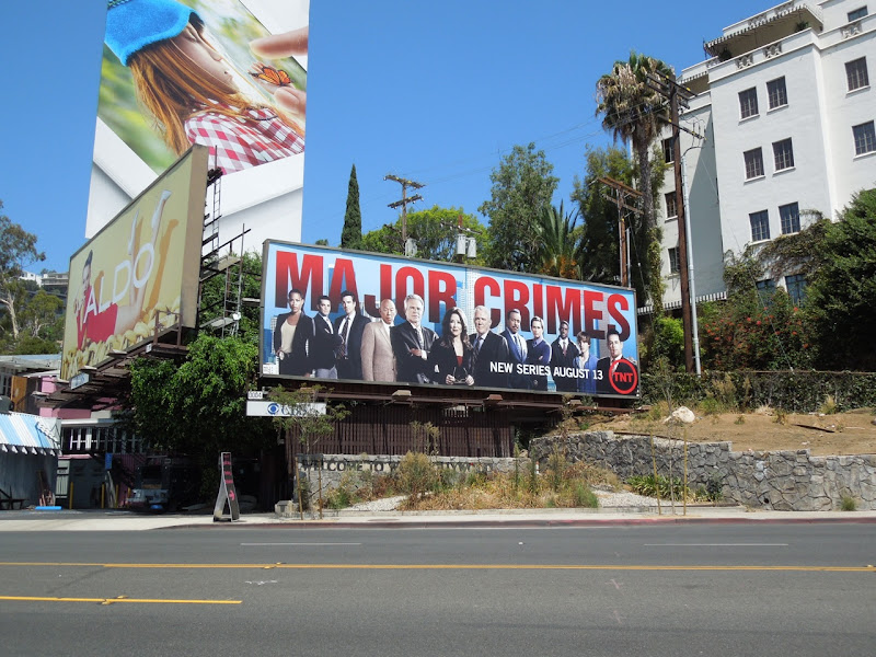 Major Crimes TNT billboard