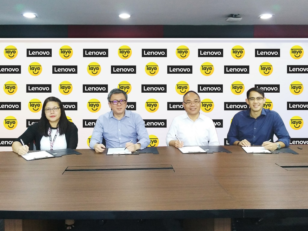 Lenovo Philippines and TAYO Foundation renews partnership for the 14th TAYO Awards