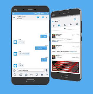 Download BBM Mod Twitter Versi 3.3 Apk Versi Terbaru