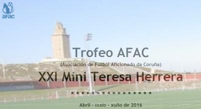 Trofeo AFAC y Mini Teresa Herrera 2016 en A Coruña: Resultados del sorteo