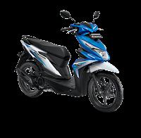 Honda BeAT Sporty eSP CBS ISS Electro Blue White