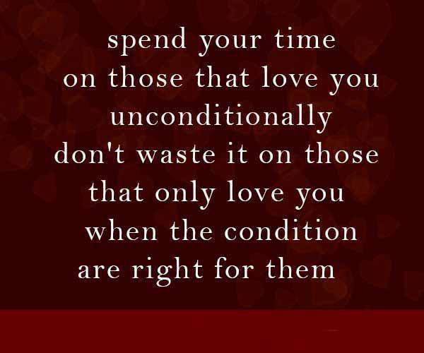 Quotes & Inspiration: Spend Your Time On Those That Love