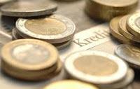 Kredi yazısı ve madeni paralar