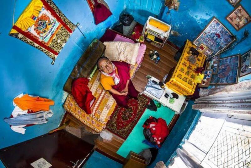 غرفة نوم من كاتماندو- نيبال