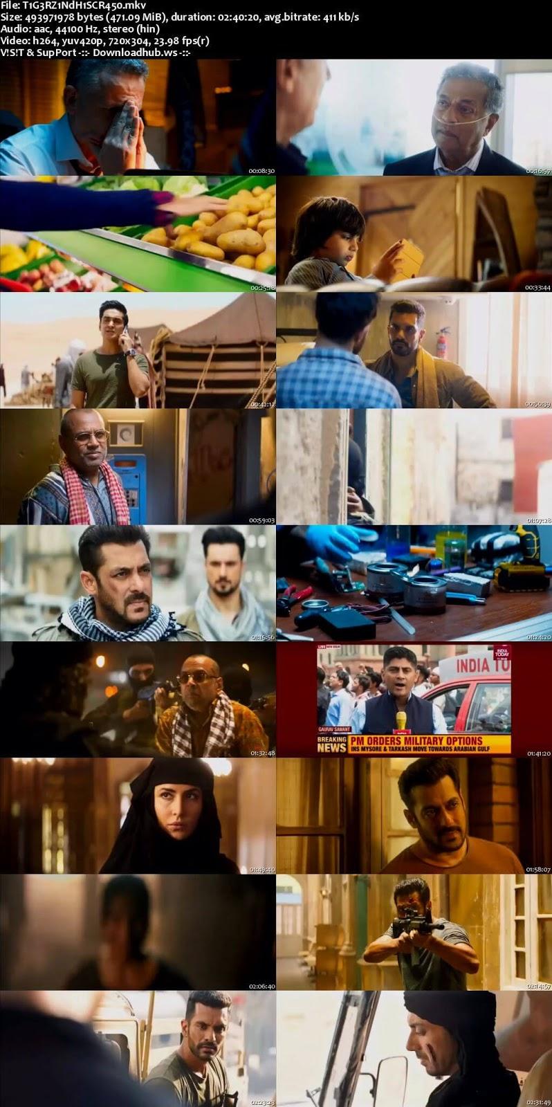Tiger Zinda Hai 2017 Hindi 480p
