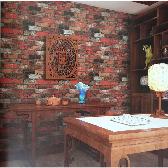 Wall Mural Ideas for Living Room Brick Wall