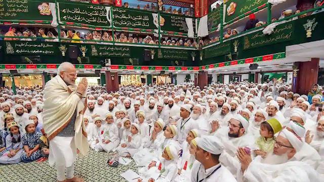 Modi-praises-Muslim-Dawoodi-Bohra-community-donations