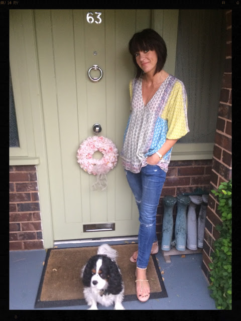 My Midlife Fashion, Boho, Skinny Jeans, Studded Sandals, Zara, Mint Velvet, Accessorize