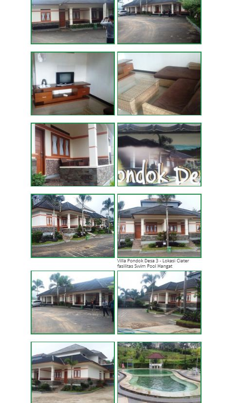 Villa Pondok Desa 3