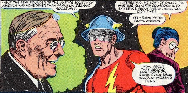 Image result for Justice Society of America FDR