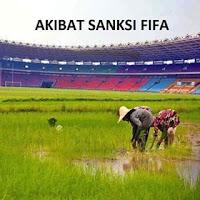 Meme gabar GBK di tanami padi