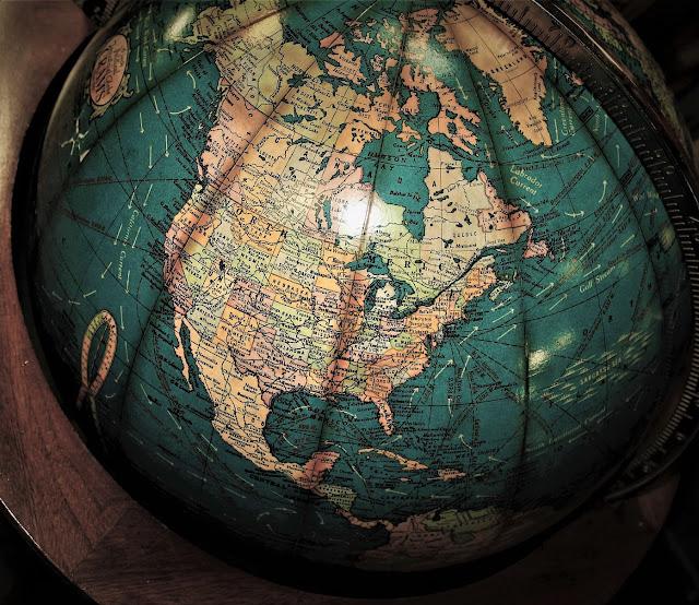 North America Map, Map of North America, Globe, world globe, north america globe