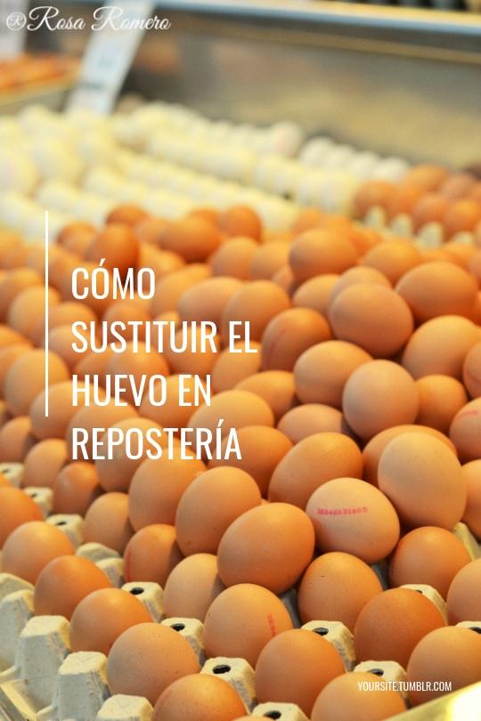Cómo sustituir el huevo en repostería #freeggs