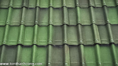 Ngói Pháp Onduvilla - màu xanh rêu 3D