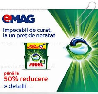 promotie emag reduceri ariel pods 3in1