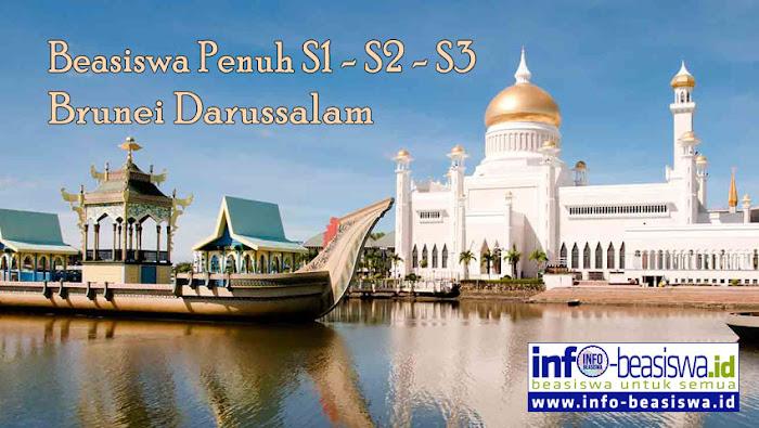 Beasiswa Penuh S1 & S2 di Brunei Darussalam