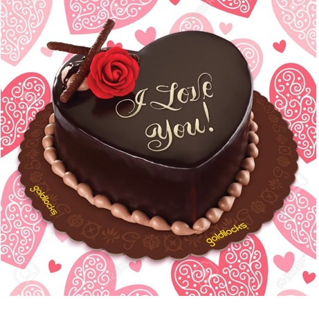 Express your sweet love with Goldilocks' Heart-Shaped All About Chocolate  Cake