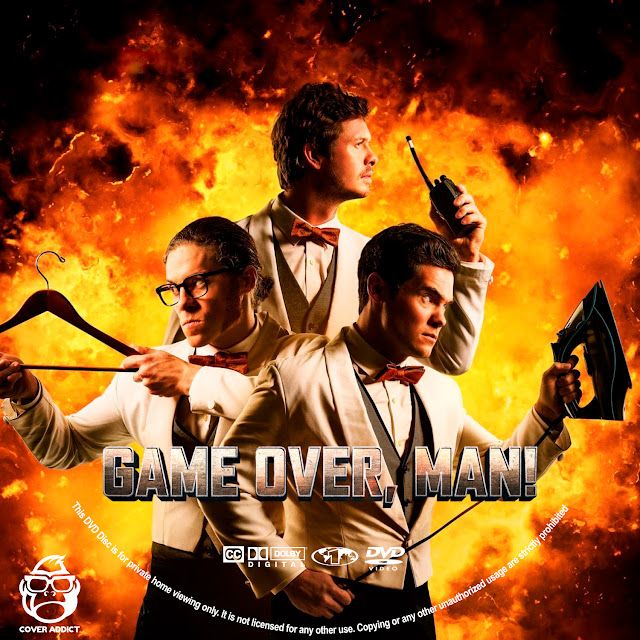 Game Over, Man! DVD Label