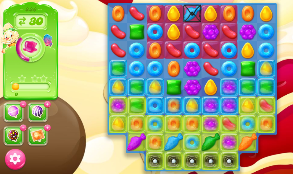 Candy Crush Jelly Saga 336