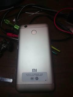 Xiaomi Redmi 4X Yang Terkena Air