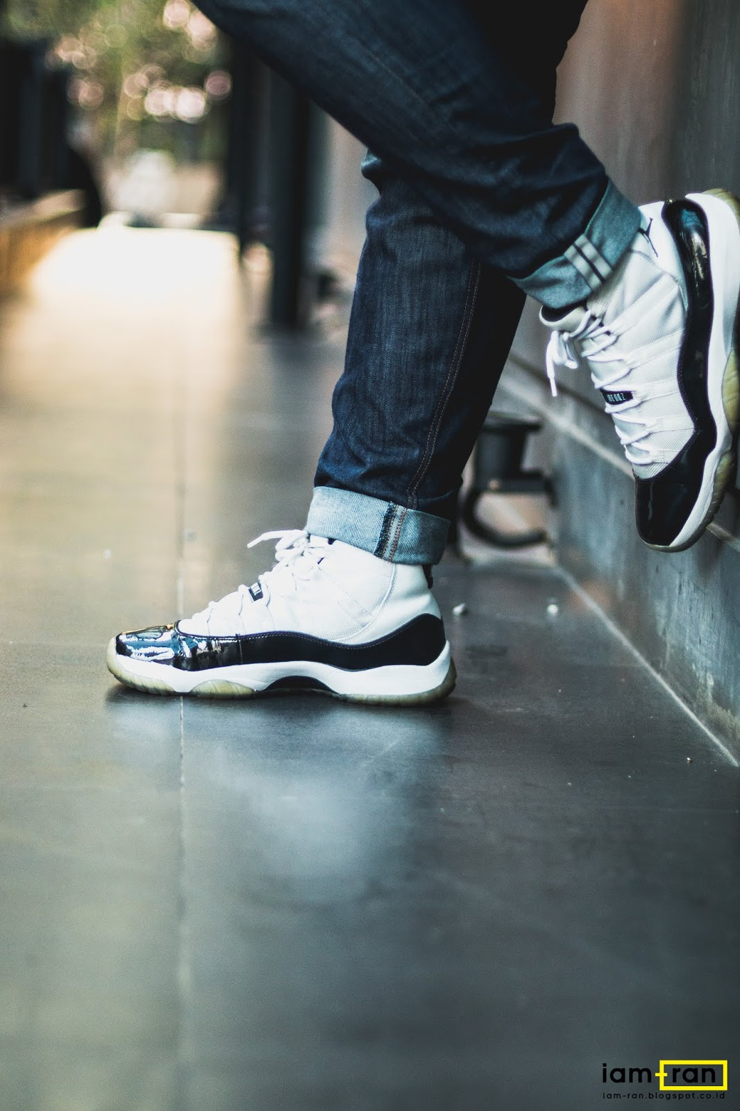 best authentic 904ba a65ab IAM-RAN: ON FEET : Ryan - Nike Air Jordan 11 Concord