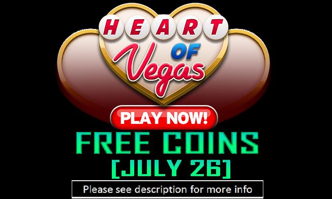 heart of vegas casino free coins