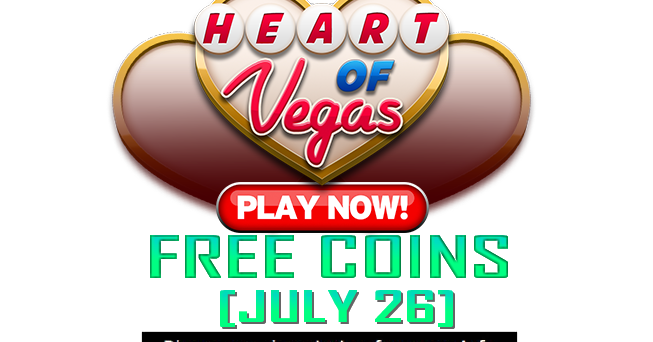 heart of vegas 90k free coins spins july 26. Black Bedroom Furniture Sets. Home Design Ideas