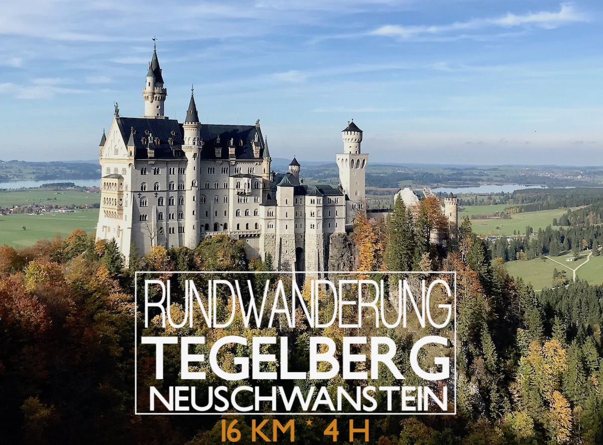 Traumhafte Rundwanderung rund um Neuschwanstein und die Ammergauer Alpen Tegelberg Königsschlösser Wanderung Bayern - die Route gibts auf http://www.theblondelion.com/2017/10/allgau-wanderung-tegelberg-neuschwanstein-wandern.html