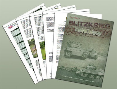 Blitzkrieg Commander III Sneak Peek by Pendraken Miniatures