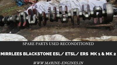mirrless backstone, spare parts, used, unused, reconditioned, seal, valve, guide, plungers, piston, injector, rods, head, block, shipspares