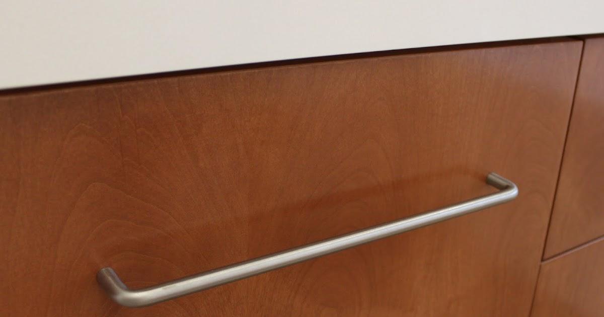 Kitchen Bath Remodel Gives Mid Century Home Modern Updates: Mid-century Modern Knobs, Towel Bars, Toilet Paper Holder