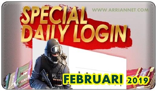 Event Login Spesial Bulan Februari PB Zepetto