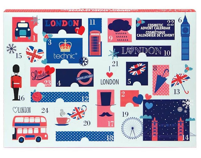 Technic London Advent Calendar make-up makeup beauty