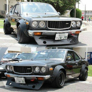 Mazda RX3 Modification