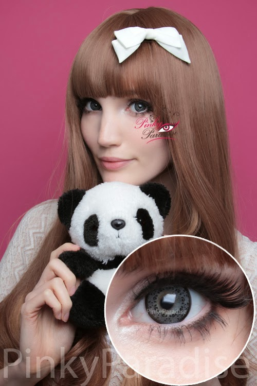 Baby Panda Grey Cosmetic Contacts