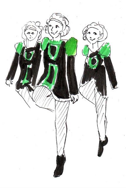 Эвелина Васильева. Ирландский танец
