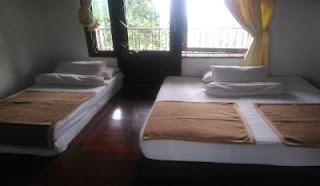 Kamar 1 villa pak acara