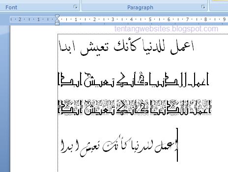 Download Font Kaligrafi Arab Cikimm Com