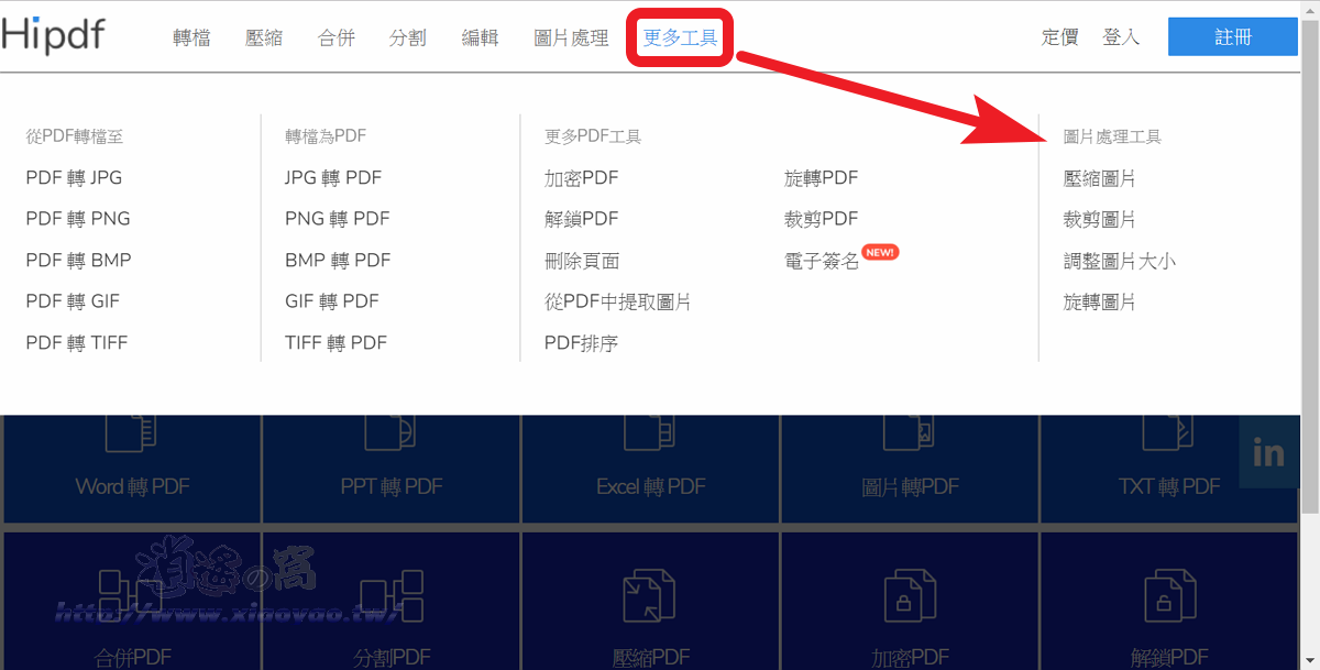 Hipdf 轉檔、分割、加解密 PDF 文件工具